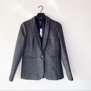 ▪️J. Crew▪️Parke blazer in houndstooth wool